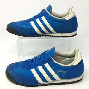 Adidas Mens 4.5 Dragon J Lace Up Low Top Trainer S